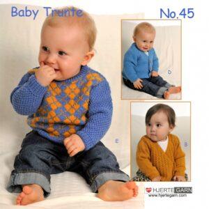 Baby strikkehæfte nr 45 baby Trunte.