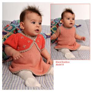 Baby strikkeopskrift Blend Bamboo no 34
