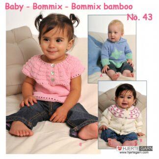 Baby strikkeopskrift Bommix no 43