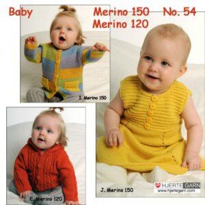 Baby strikkeopskrift nr 54