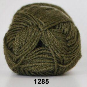 Basic- Strømpegarn - Superwash - fv 1285 Jagt Grøn