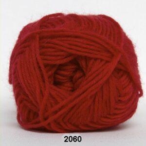 Basic - Strømpegarn - Superwash - fv 2060 Rød