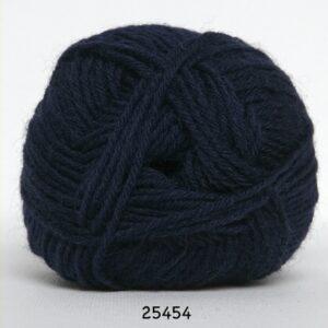Basic- Strømpegarn - Superwash - fv 25454 Mørkeblå