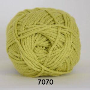 Cotton 8/8 fv 7070 Lime Grøn