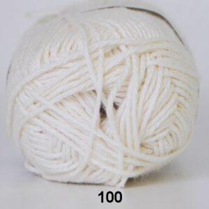 Cotton Linen - Bomuldsgarn - Hørgarn - fv 100 Råhvid