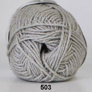 Cotton Linen - Bomuldsgarn - Hørgarn - fv 503 ( 434 ) Lys Grå