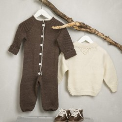Heldragt - viking design 1509-23 kit - 3-24 mdr. - viking baby ull