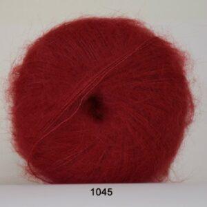 Hjertegarn Silk Kid Mohair Garn - fv 1045 Rød
