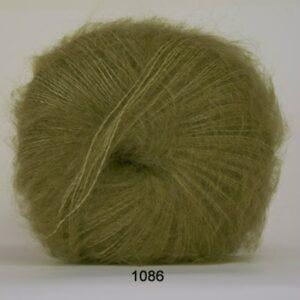 Hjertegarn Silk Kid Mohair Garn - fv 1086 Lime Grøn