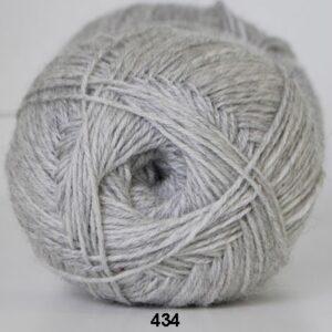 Strømpegarn - Hjertegarn - Aloa - fv 434 Lysgrå