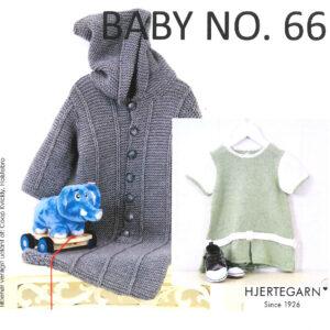 Strikkeopskrifter Baby No. 66 Hjertegarn