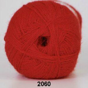 Alpaca 400 - Lama Uldgarn - fv 2060 Rød