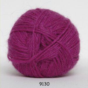 Hjerte Alpaca 100% Alpaca uld fv 9130 Pink