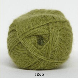 Hjerte Alpaca - Alpaca Uldgarn - fv 1265 Lime Grøn
