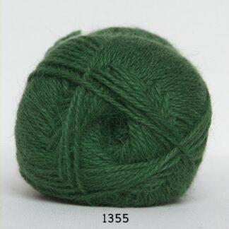 Hjerte Alpaca - Alpaca Uldgarn - fv 1355 Grøn