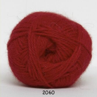 Hjerte Alpaca - Alpaca Uldgarn - fv 2060 Rød