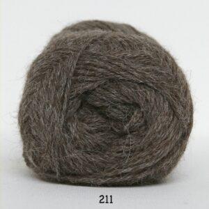 Hjerte Alpaca - Alpaca Uldgarn - fv 211 Mellem Brun