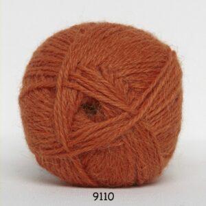 Hjerte Alpaca - Alpaca Uldgarn - fv 9110 Orange