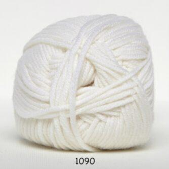 Hjertegarn Extrafine Merino 120 Garn - fv 1090 Hvid
