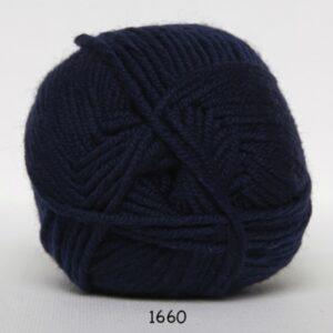 Hjertegarn Extrafine Merino 120 Garn - fv 1660 Mørkblå
