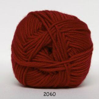 Hjertegarn Extrafine Merino 120 Garn - fv 2060 Rød
