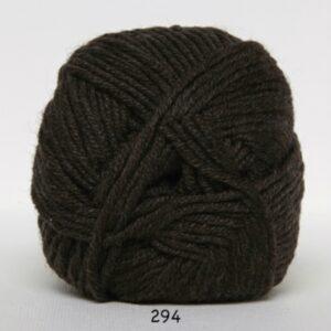 Hjertegarn Extrafine Merino 120 Garn - fv 294 Mørkbrun