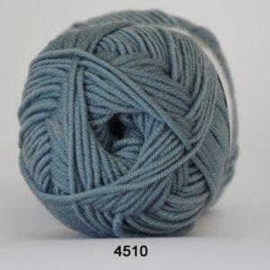 Hjertegarn Extrafine Merino 120 Garn- fv 4510 Due blå