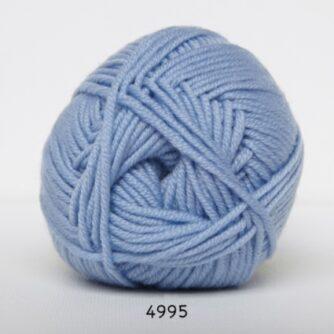 Hjertegarn Extrafine Merino 120 Garn - fv 4995 Lysblå