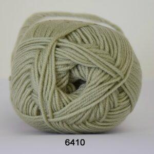Hjertegarn Extrafine Merino 120 Garn - fv 6410 Pastel Grøn