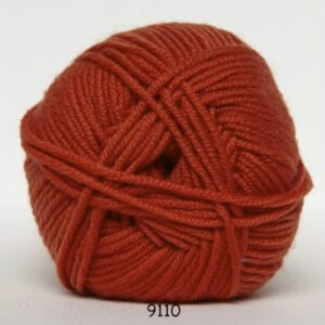 Hjertegarn Extrafine Merino 120 Garn - fv 9110 Orange