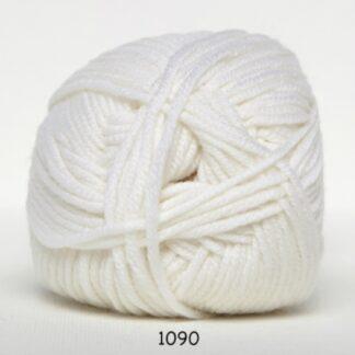 Hjertegarn Extrafine Merino 150 Garn - fv 1090 Hvid