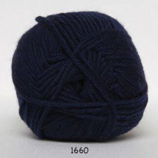 Hjertegarn Extrafine Merino 150 Garn - fv 1660 Mørkblå
