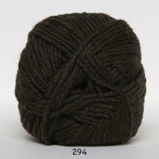 Hjertegarn Extrafine Merino 150 Garn - fv 294 Mørkbrun