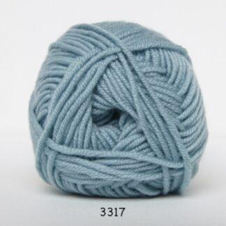 Hjertegarn Extrafine Merino 150 Garn - fv 3317 Pastelblå