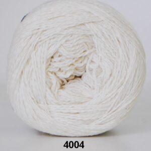 Hjertegarn Organic 350 - Økologisk Merinould Garn - fv 4004 råhvid