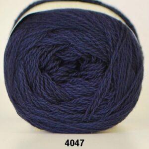 Hjertegarn Organic 350 - Økologisk Merinould Garn - fv 4047 Marine blå