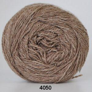 Hjertegarn Organic 350 - Økologisk Merinould Garn - fv 4050 Mørk beige