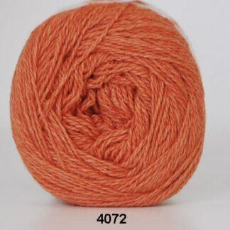 Hjertegarn Organic 350 - Økologisk Merinould Garn - fv 4072 Orange