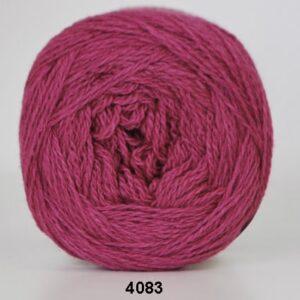 Hjertegarn Organic 350 - Økologisk Merinould Garn - fv 4083 Pink