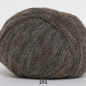 Rustic Lama uldgarn - Baby Alpaca - fv 292 Brun