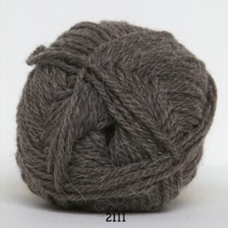 Vidal Alpaca - Lama uld - Økologisk Baby garn - 2111 Mellem Brun