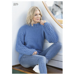 """dam"" genser - viking design 1811-8 kit - xs-xxl - viking alpaca"