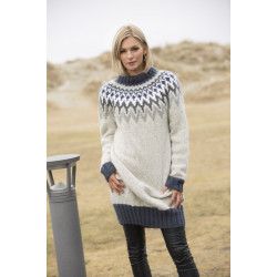 """dimme"" genser - viking design 1806-4 kit - xs-xxl - viking alpaca"