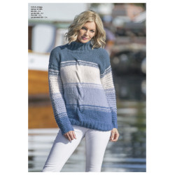 """dregg"" genser - viking design 1812-6 kit - xs-xxl - viking alpaca"