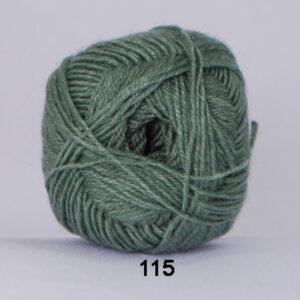 Hjertegarn Bamboo Wool - Uldgarn med bambus garn - Fv 115 Lys Grøn