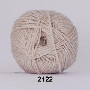 Hjertegarn Bamboo Wool - Uldgarn med bambus garn - Fv 2122 Beige