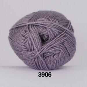 Hjertegarn Bamboo Wool - Uldgarn med bambus garn - Fv 3906 Lavendel