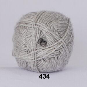 Hjertegarn Bamboo Wool - Uldgarn med bambus garn - Fv 434 Lys Grå