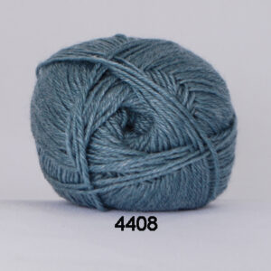 Hjertegarn Bamboo Wool - Uldgarn med bambus garn - Fv 4408 Aqua