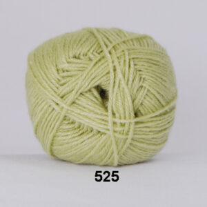 Hjertegarn Bamboo Wool - Uldgarn med bambus garn - Fv 525 Lys Lime